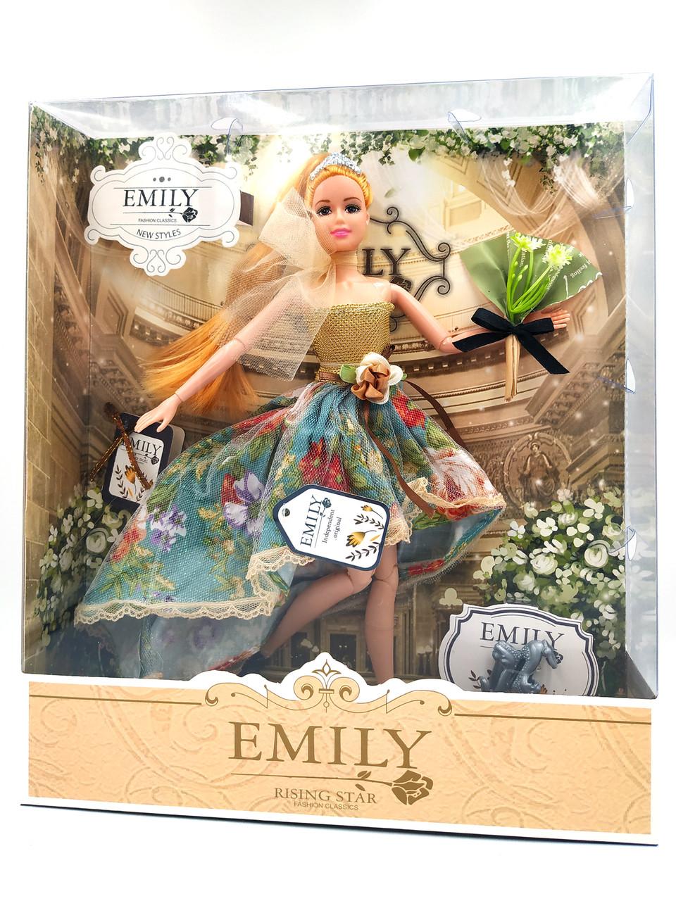 Кукла Эмили Emily Fashion Classics с рыжими волосами в красивом платье 30см вид 7