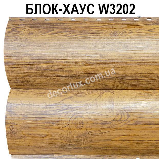 Сайдинг блок-хаус металлический Золотой дуб, Сосна (длина до 6 м)