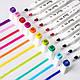 Набор 60 цветов двусторонних маркеров Touch для рисования и скетчинга на спиртовой основе 60 штук, фото 4