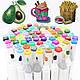 Набор 80 цветов двусторонних маркеров 80 шт Touch для рисования и скетчинга на спиртовой основе, фото 4