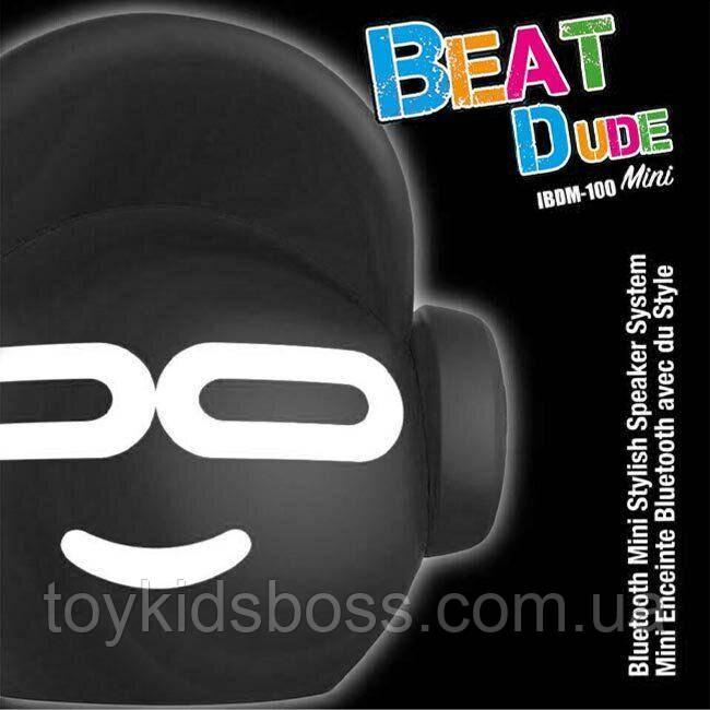 Портативная Bluetooth-колонка iDance Beat Dude Mini 5W Черная