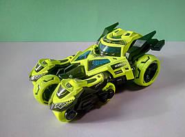 Ігровий набір гоночний автомобіль трансформер 3 в 1 мотоцикли