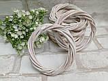 Вінок білий натуральний з лози d-12см, 25 грн, фото 3
