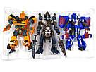 Набор Трансформеры Автоботы Бамблби, Оптимус Прайм, Гримлок Transformers 3 в 1, фото 2