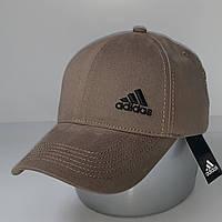 Стильная хлопковая мужская кепка - бейсболка с регулятором, беж VK 1083