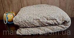 Жаккардовый универсальный натяжной чехол на угловой диван с рюшей, фото 3
