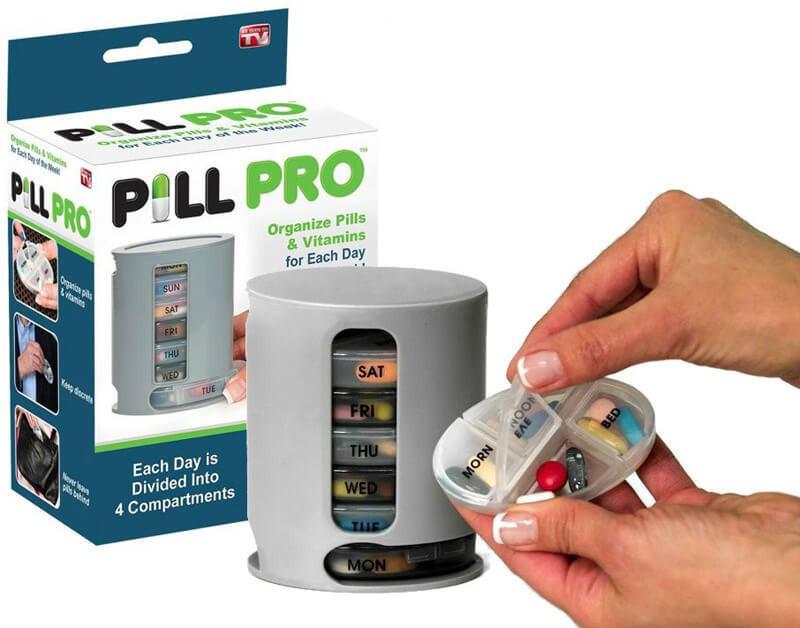 Органайзер для таблеток Pill Pro, таблетница