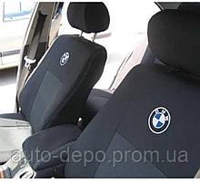 Чехлы на сиденья БМВ 3 серии Авточехлы BMW 3 Series (E46) з/сп. цельная 1998-2006 Elegant бмв е46