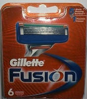 Лезвия Gillette Fusion, 6 Cartridges, фото 1