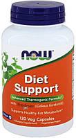 Жиросжигатель диет саппорт нау фудс Now Foods Diet Support 120 капсул