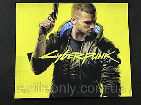 Нашивка Cyberpunk 2077 / Киберпанк 210х175 мм