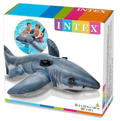 Надувная акула Intex 57525