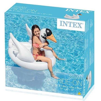 """Надувной плотик """"Белый Лебедь"""" Intex 57557"""