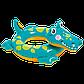 """Дитячий надувний круг Intex 58221 """"Крокодил"""", фото 2"""