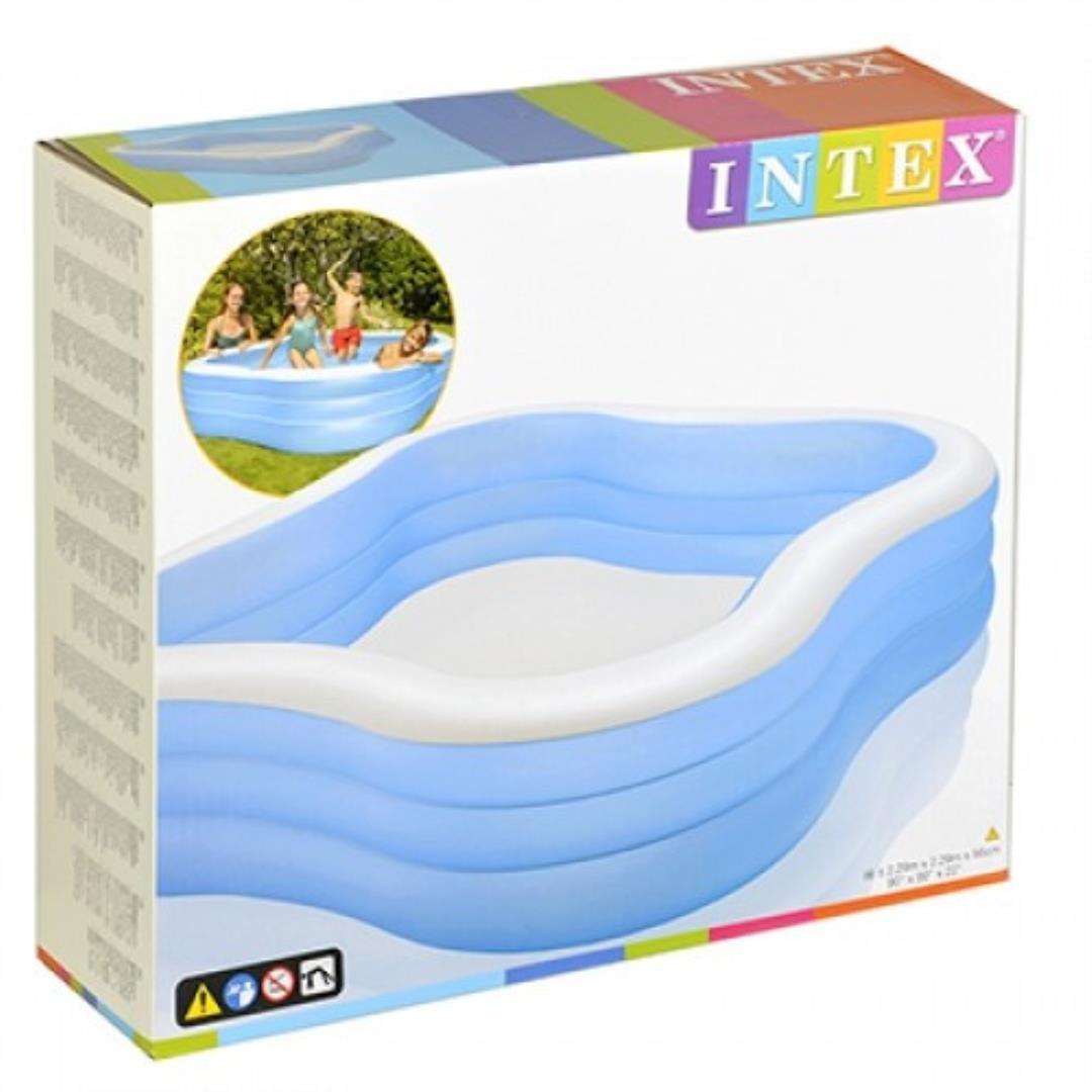 Надувной бассейн для детей Intex Beach Wave 57495