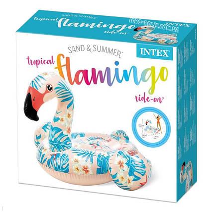 """Надувной плот Intex """"Тропический фламинго"""" (57559)"""