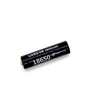 Аккумулятор Li-ion 18650 1800 mAh 3.7 V Black