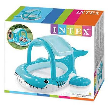 Детский надувной плотик Intex 56581 Кит