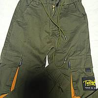 Джинсы карго модные красивые оригинальные демисезонные с боковыми карманами для мальчика.Низ на манжете.