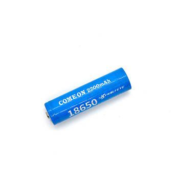 Аккумулятор литий-ионный 18650 2200 мАч 3.7 В.