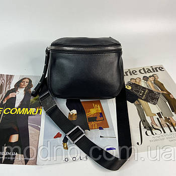 Жіноча шкіряна сумка через плече і на пояс Polina & Eiterou