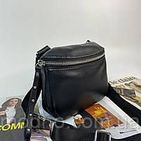 Жіноча шкіряна сумка через плече і на пояс Polina & Eiterou, фото 6