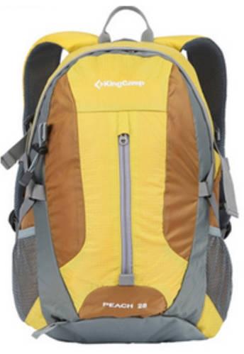 Мужской оригинальный спортивный рюкзак 28 л. KingCamp PEACH (KB3306) Yellow желтый