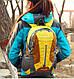 Мужской оригинальный спортивный рюкзак 28 л. KingCamp PEACH (KB3306) Yellow желтый, фото 9