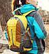 Мужской оригинальный спортивный рюкзак 28 л. KingCamp PEACH (KB3306) Yellow желтый, фото 10