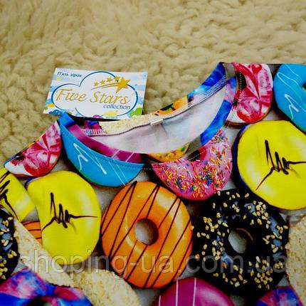 Реглан цветные пончики Five Stars KD0441-134р, фото 2