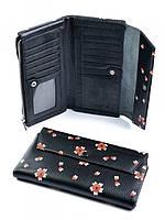 Кошелек женский кожаный 910453 Black