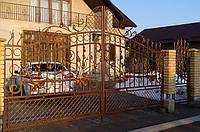 Ворота кованные 367, фото 1