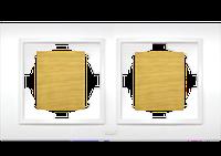 Рамка двойная береза El-Bi Zena