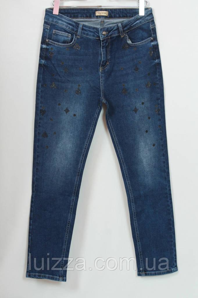 Джинсовые брюки  Luizza турецкие 50-56р, синий