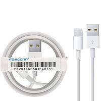 Кабель для iPhone x 11 12 pro max Apple Lightning to USB кабель 5 6 7 8 для зарядки для iPad Кабель Foxconn