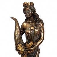 Статуэтка Veronese Фортуна 18 см 75416 фигурка алтарная веронезе с рогом изобилия с деньгами верона