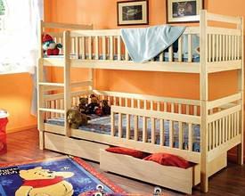 Ліжко Том і Джері  (Масив Бука)