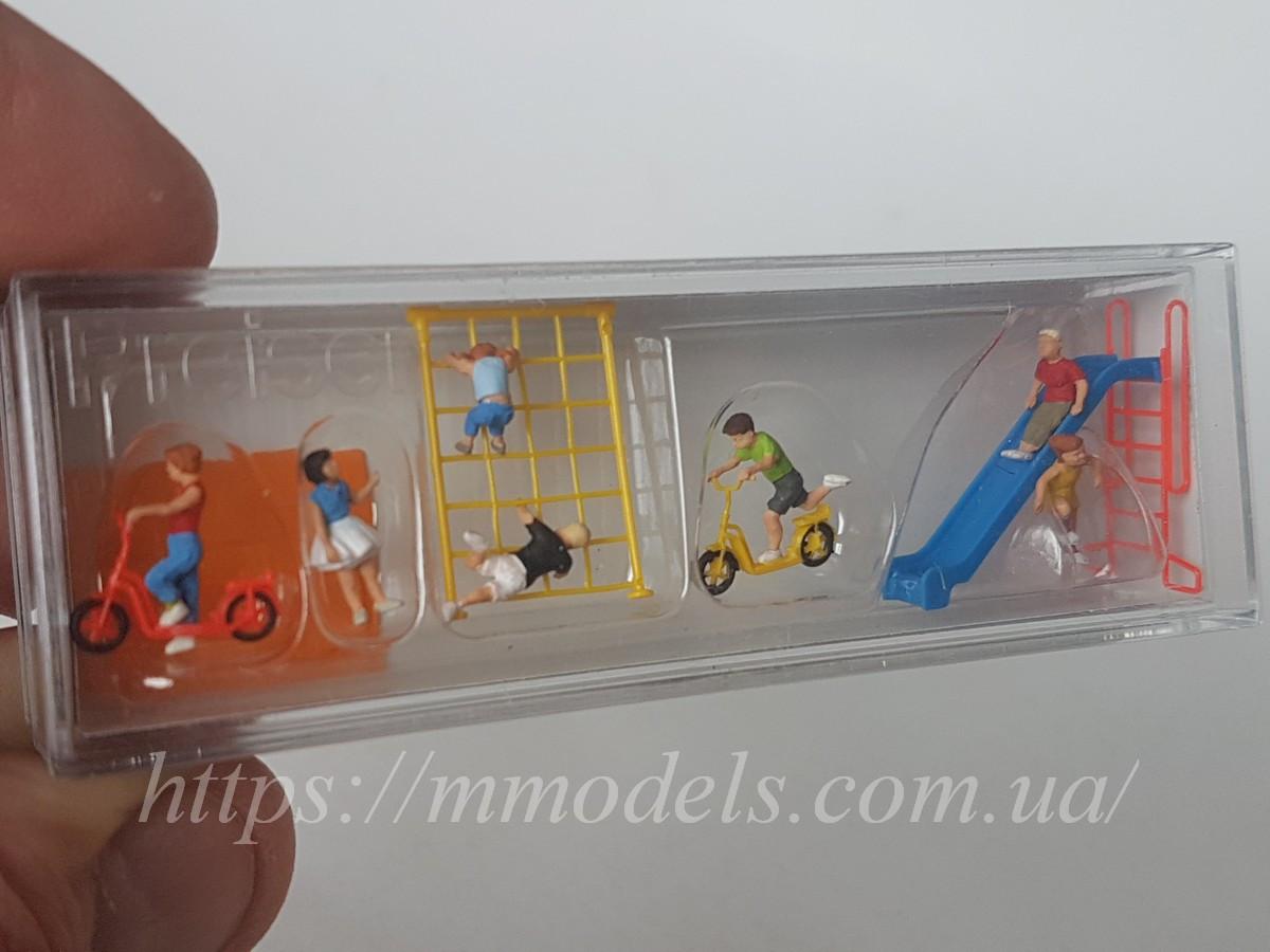 Комплекти фігурок чоловічки сидячі комплект 5 шт, масштабу 1:87,H0