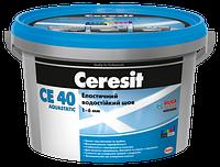 Замазка для швів CE 40 Aquastatic 07, 5 кг сірий