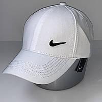 Стильная хлопковая мужская кепка - бейсболка с регулятором, белый VK 1089