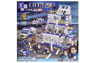 Конструктор Полицейский участок Сити QL0227, 873 дет.