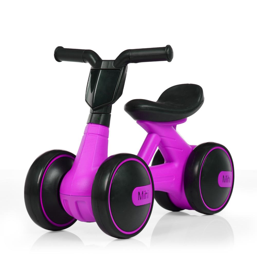 Толокар-беговел для малышей BAMBI M 4086-9 фиолетовый с музыкой и светом