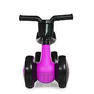 Толокар-беговел для малышей BAMBI M 4086-9 фиолетовый с музыкой и светом, фото 2