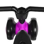 Толокар-беговел для малышей BAMBI M 4086-9 фиолетовый с музыкой и светом, фото 4