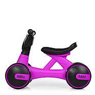 Толокар-беговел для малышей BAMBI M 4086-9 фиолетовый с музыкой и светом, фото 3
