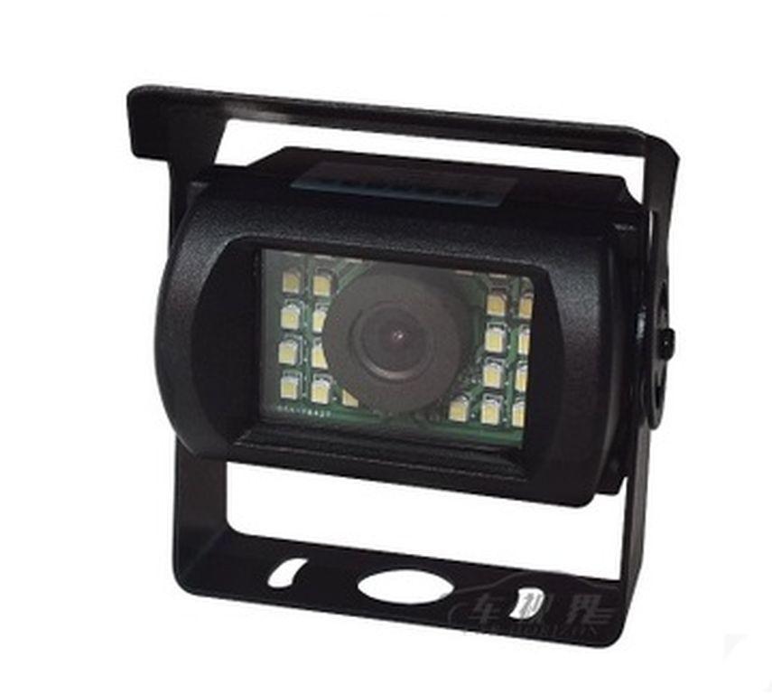 Камера заднього виду з діодним підсвічуванням для автобусів, вантажівок, спецтехніки. (КЗВ-193Д)