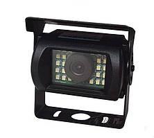 Камера заднего вида с диодной подсветкой для автобусов, грузовиков, спецтехники. (КЗВ-193Д)