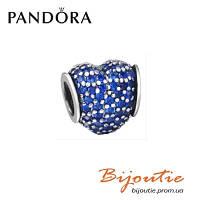 Шарм Pave №791052RBK Pandora серебро 925 проба вставки циркон Пандора оигинал