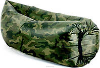 Надувной матрас Ламзак AIR sofa ARMY | Диван мешок КАМУФЛЯЖНЫЙ