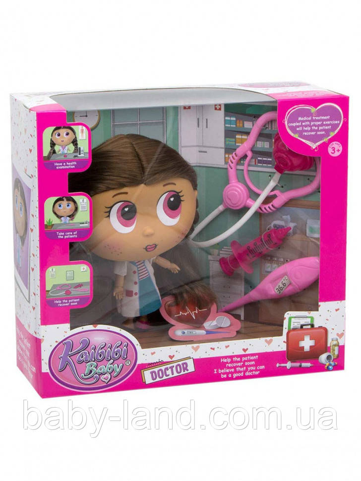 Кукла доктор BLD287 (Розовый)